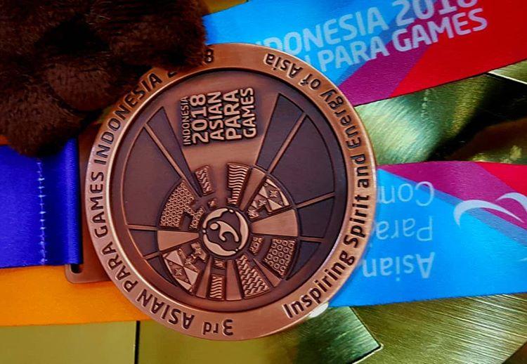 Medali Asian Para Games, sumber ig iyangpictures